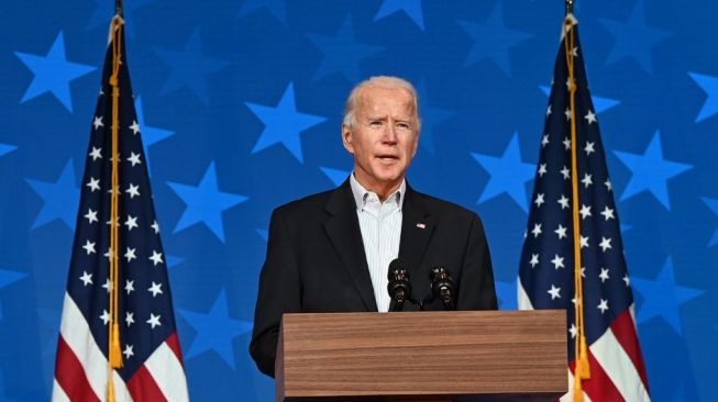 Joe Biden memenangi Pilpres AS 2020. [Jim WATSON / AFP]