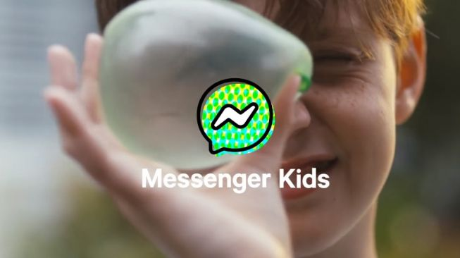 Messenger Kids. [Screenshot]