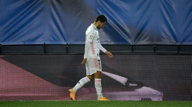 Real Madrid vs Real Sociedad, Benzema dan Hazard Masih Menepi