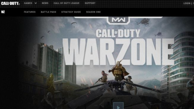 Call of Duty: Warzone. [Call of Duty]