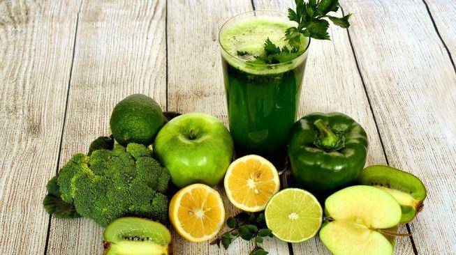 Ilustrasi jus sayuran, jus hijau (Pixabay/marijana1)