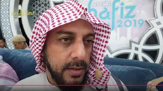 Mengharukan, Pesan Syekh Ali Jaber ke Pemulung Anak Angkatnya