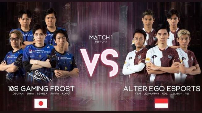 Alter Ego Pulangkan 10S Gaming Frost di Playoff M2 World Championship 2020