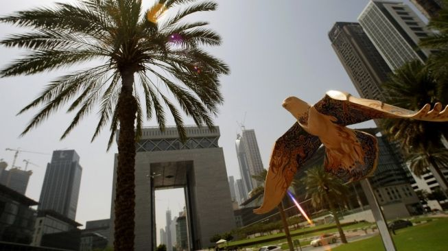 Dubai International Financial Centre. [Karim Sahib/AFP]