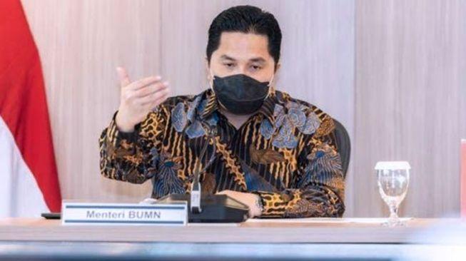 Erick Thohir Optimistis Ekonomi Indonesia Tumbuh 3-5 Persen