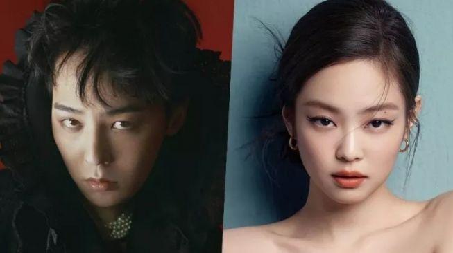 G-Dragon dan Jennie Blackpink Dikabarkan Pacaran, Warganet: Pengalihan Isu!