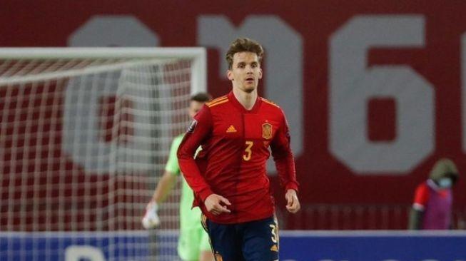 Bek Timnas Spanyol, Diego Llorente. [Instagram@diego_2llorente]