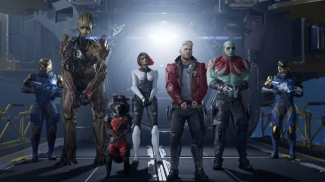 Guardians of The Galaxy. [YouTube/Square Enix]