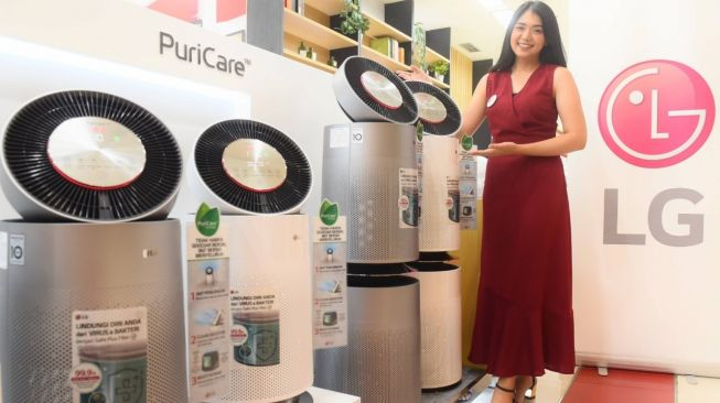 LG PuriCare 360° Air Purifier. [LG Electronic Indonesia]