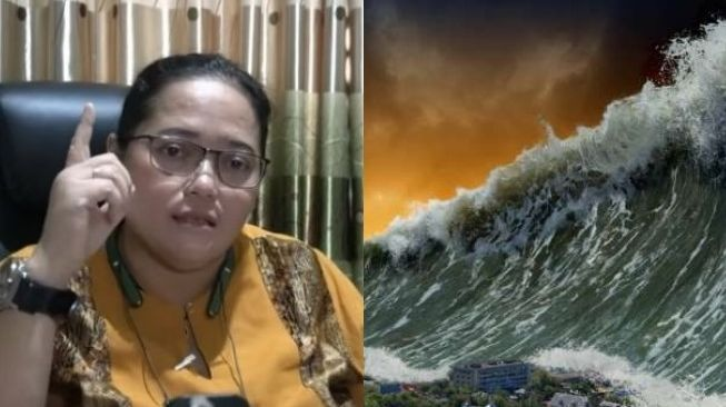 Mbak You again made a scene with the vision of Indonesia's future from the disaster issue.