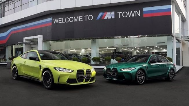 The New BMW M3 Competition dan The New BMW M4 Coupe Competition untuk pasar Indonesia [BMW Group Indonesia].