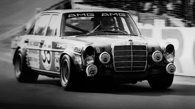 AMG 300 SEL 6.8 di 24 Hours of Spa di Sirkuit Spa-Francorchamps, Belgia 1971 [Mercedes-AMG].