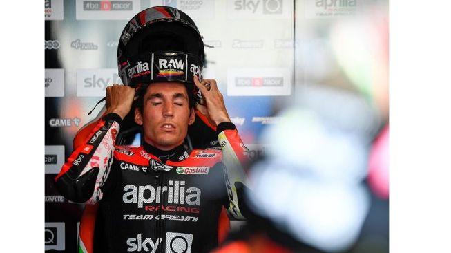 Jelang MotoGP Styria 2021, Wajah Aleix Espargaro Ada yang Berbeda