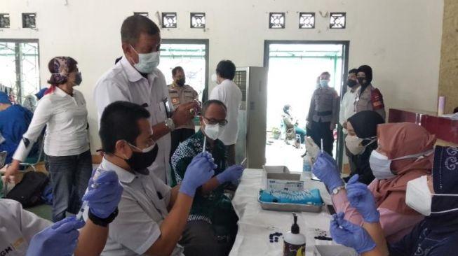 Vaksinasi Pelajar di Bandar Lampung Digelar di Sekolah