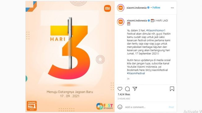 Redmi 10. [Instagram]