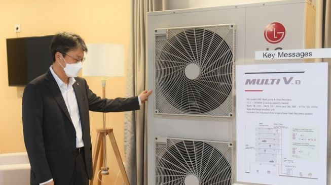 LG Air Conditioning Academy. [LG Electronics Indonesia]