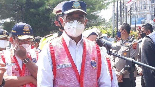 Datangi Puncak Bogor, Menhub Minta Kawasan Puncak Jangan Hanya Berita Macet Saja