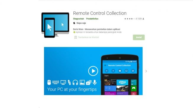 Remote Control Collection. [Google Play Store]