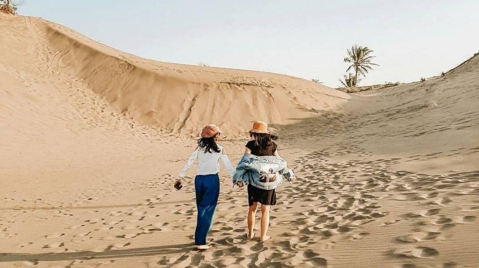 Gumuk Pasir Parangkusumo Jogja, Satu-Satunya Gumuk Pasir di Asia Tenggara