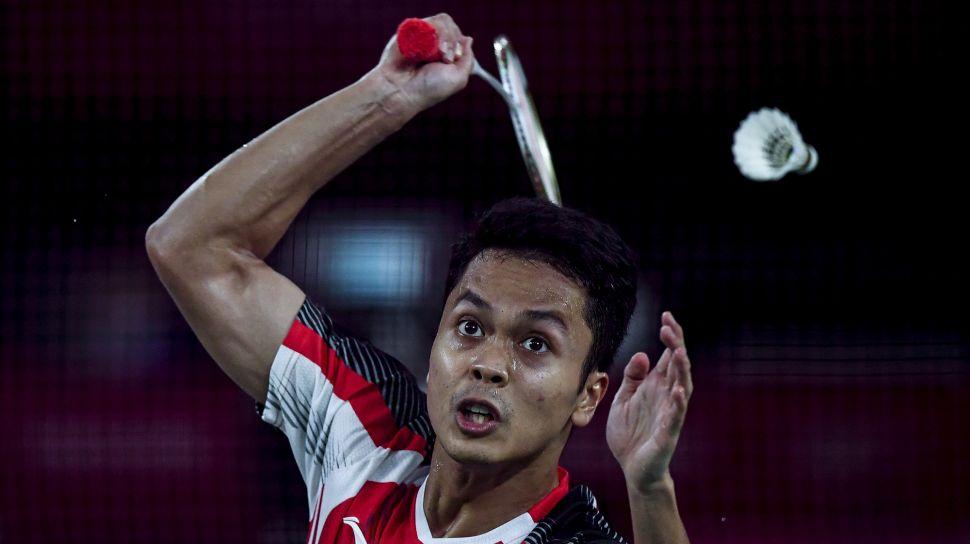 Kalah dari Chen Long, Anthony Ginting Gagal Melaju ke Final Olimpiade Tokyo