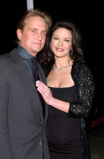 Pasangan Hollywood Catherine Zeta-Jones dan Michael Douglas. [Shutterstock]