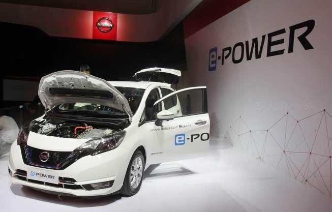 Nissan Note e-Power di GIIAS 2017