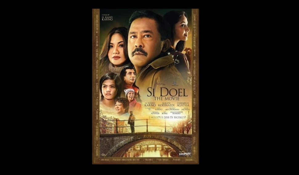 Poster film Si Doel The Movie (falconpictures_/instagram).
