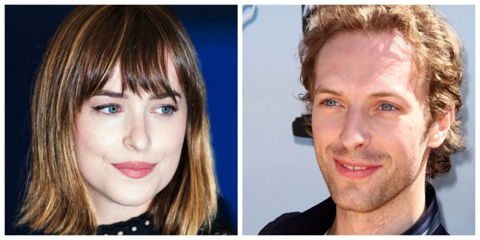 Dakota Johnson dan Chris Martin. (Shutterstock)