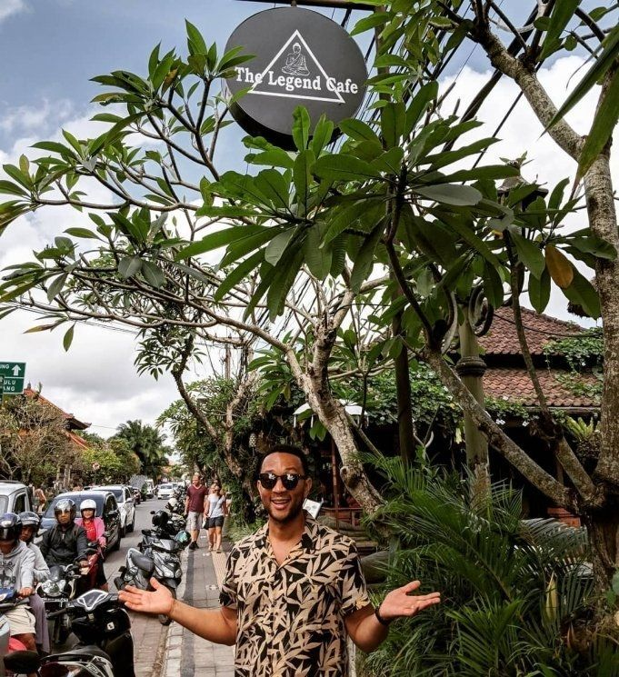 John Legend di Bali. (instagram.com/@johnlegend)
