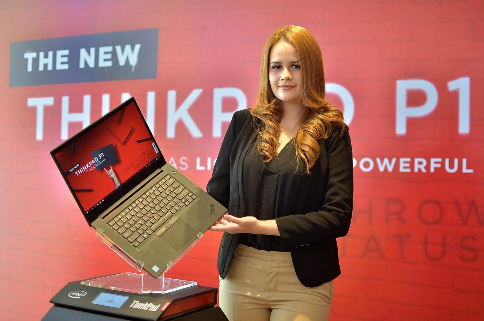 Lenovo Luncurkan Laptop New ThinkPad P1
