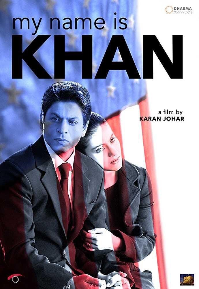 Poster film My Name Is Khan (Twitter Karan Johar)