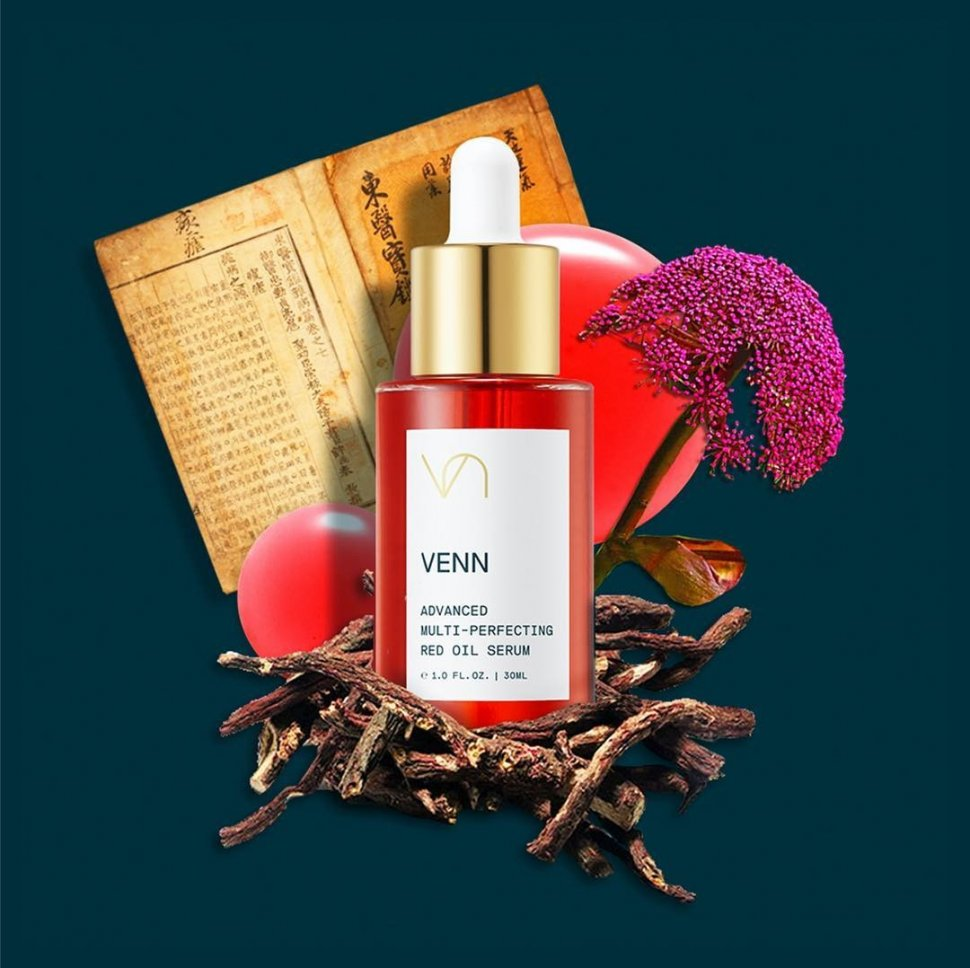 Advanced Multi-Perfecting Red Oil Serum dari VENN Skincare. (Instagram/@vennskincare_kr)