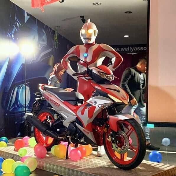 MX King Edisi Ultraman. (Facebook/@adamhawadotmy)