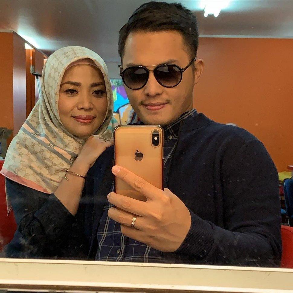 Muzdalifah dan sang suami, Fadel Islami (Instagram/@muzdalifah999)