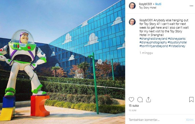 Toy Story Hotel. (Instagram/@lissby2)
