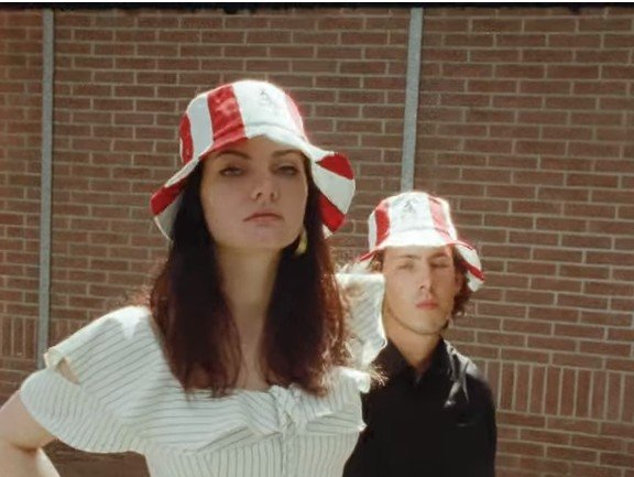 KFC Bucket Hat. (YouTube/KFC Rusia)