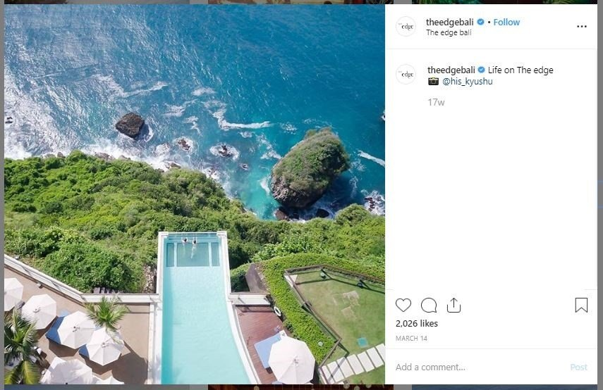 The Edge Bali (instagram.com/theedgebali)
