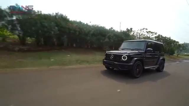 Mercedes-Benz AMG G 63 SUV Night Package. (YouTube/Rans Entertainment)