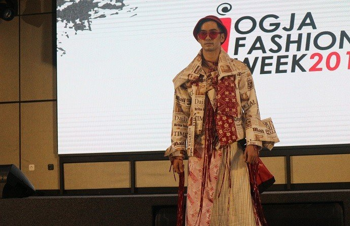 Launching Jogja Fashion Week (JFW) 2019. (Suara.com/Yasinta Rahmawati)