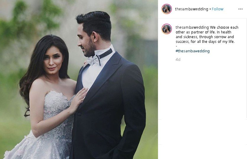 Prewedding Amrit Punjabi dan Sanjana. (Instagram/@thesambawedding)