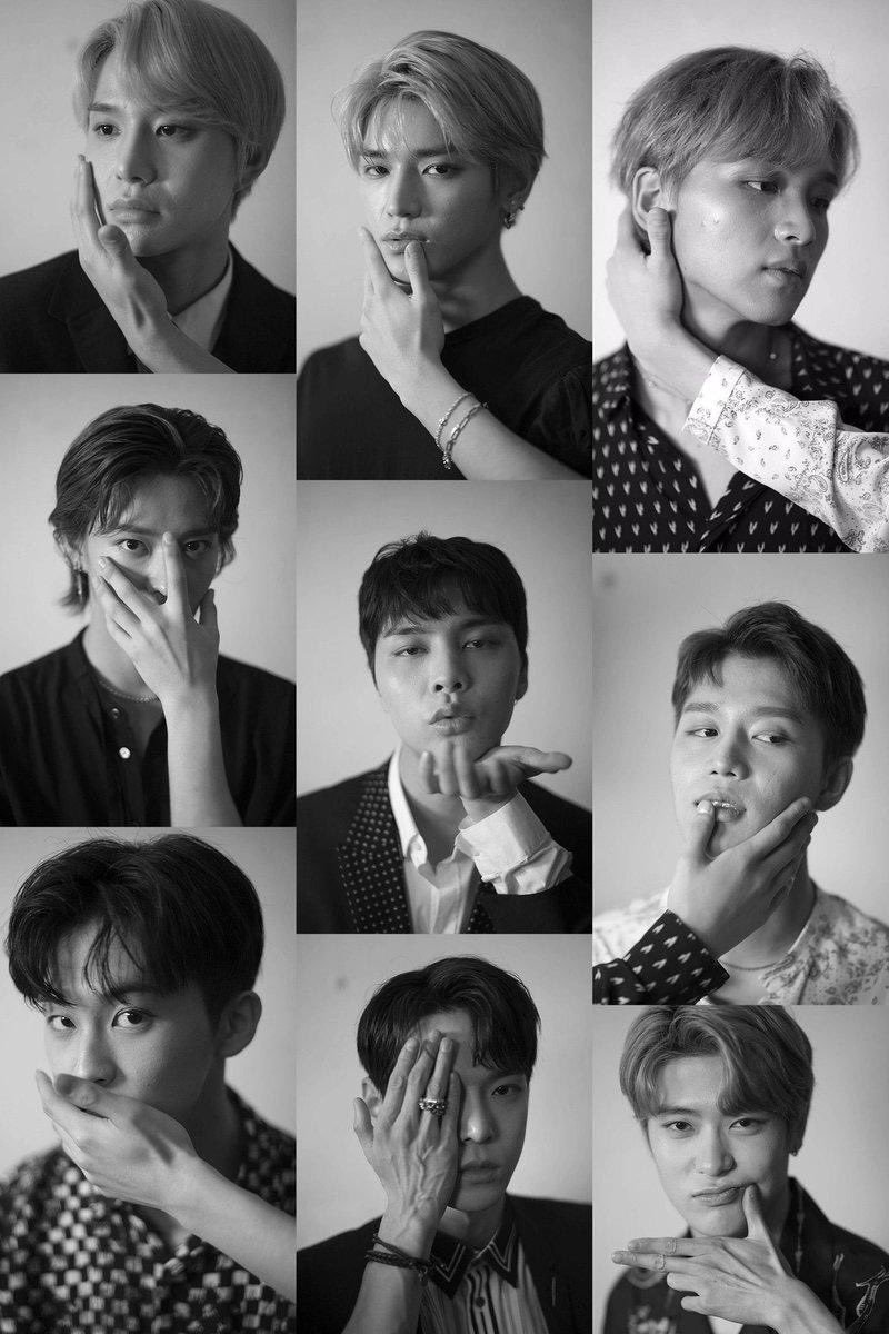 Personel NCT 127.  (Twitter/@triviajohnny)