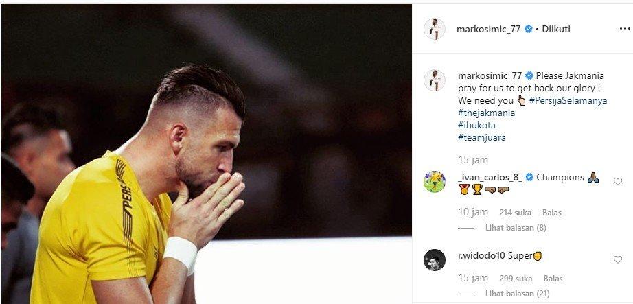 Unggahan Marko Simic. [@markosimic_77/Instagram]