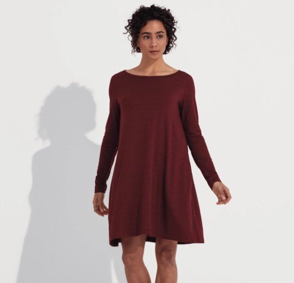 Rowena Swing Dress. (Wooland.com)