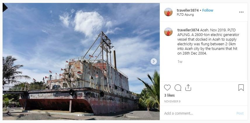 Destinasi Dark Tourism di Indonesia (instagram.com/traveller3874)