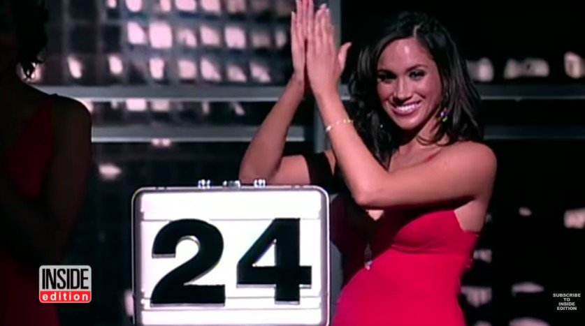 Meghan Markle di kuis Deal or No Deal. (YouTube/Inside Edition)