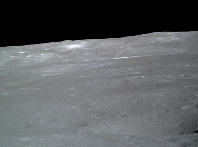China Shares Beautiful Photos from the Moon Away Side Mission.  (Technic Spatiales)