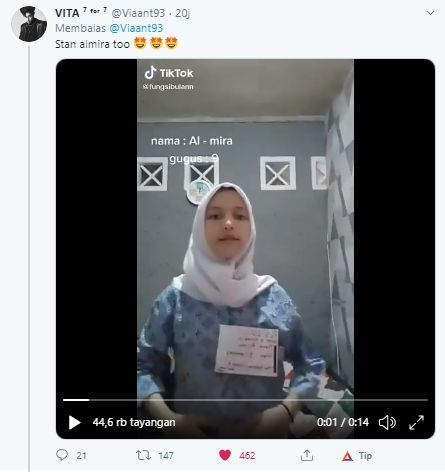 Video Almira Taraktakdung (Twitter).