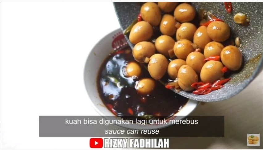 Viral Resep Telur Puyuh di drama It's Okay to Not Be Okay. (Dok: YouTube/Rizky Fadhilah)
