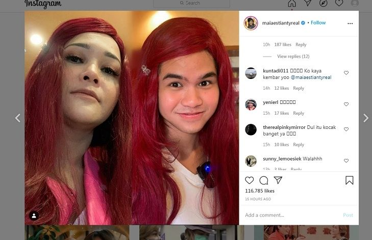 Maia Estianty dan Dul Jaelani [Instagram]