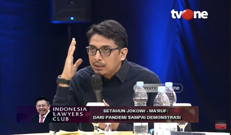 Ahli Hukum UGM Zainal Arifin Sebut Omnibus Law Ugal-ugalan Sampai Bikin Ngakak (YouTube: Indonesia Lawyers Club).
